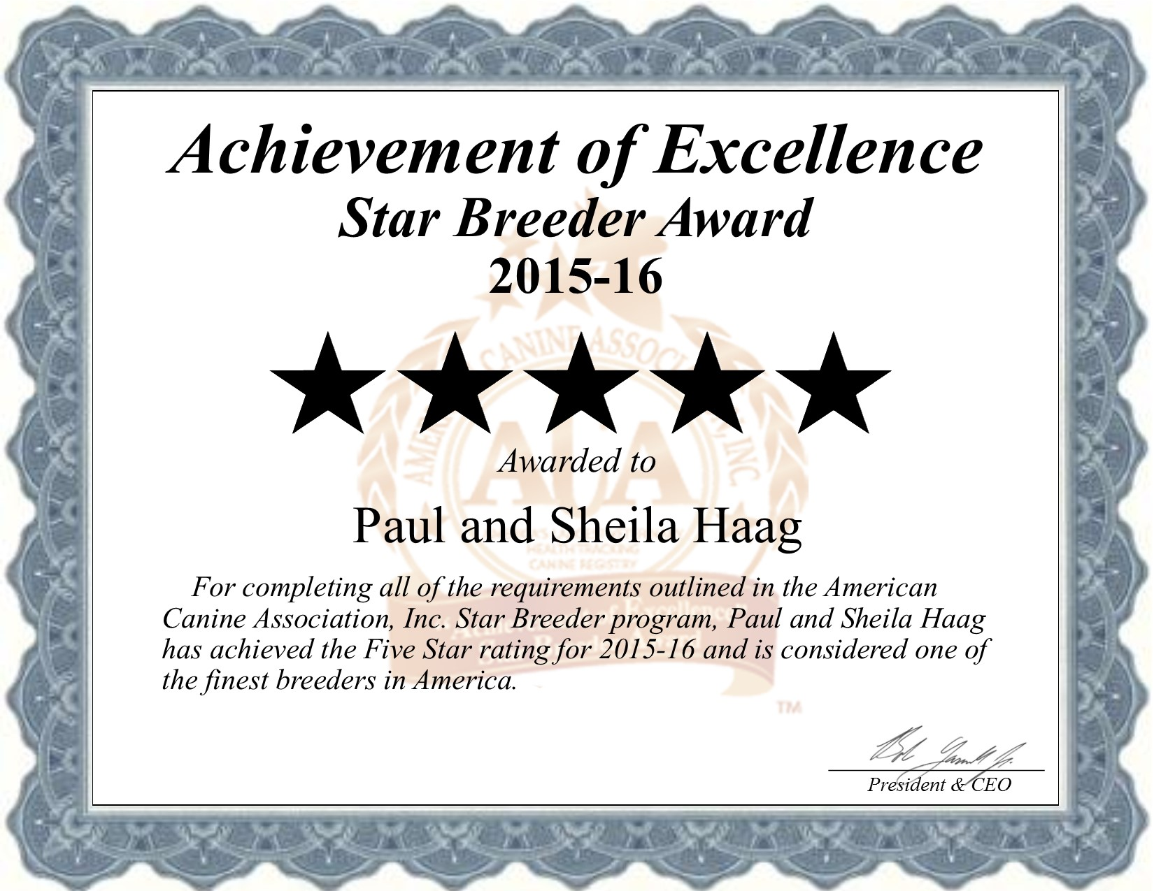 Paul, Haag, Sheila, Haag, dog, breeder, paul-haag, sheila-haag, certificate, dog-breeder, eden, vally, mn, minnesota, kennels, usda, no, 41-a-0281